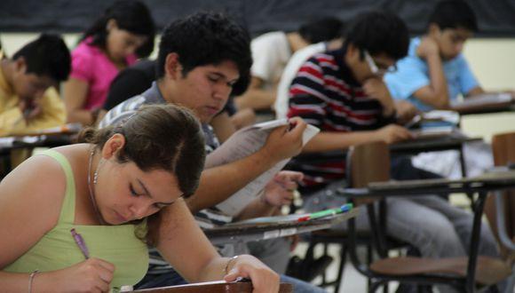 Examen de admisión se realizará en dos fechas: el 17 y 18 de marzo. (Foto: El Comercio)