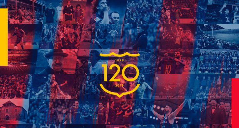 FC Barcelona: el elenco catalán cumple 120 años.