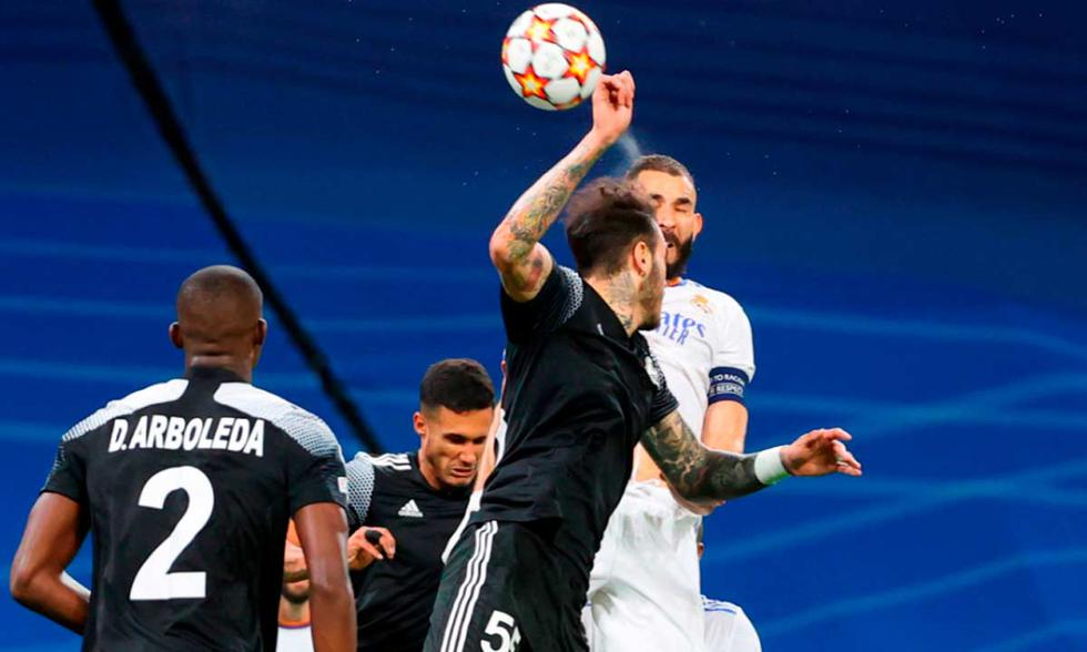Real Madrid choca con Sheriff Tiraspol por la Champions League | Foto: EFE.