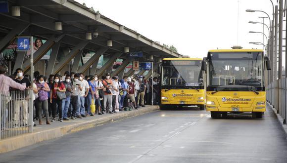 La ATU informó sobre el horario en el que circularán los buses del Metropolitano en Año Nuevo. (Foto: GEC)