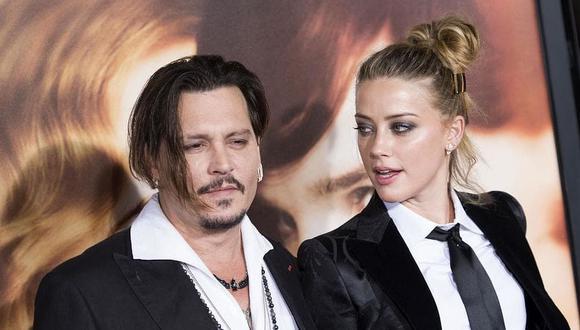 Johnny Depp demandó a su expareja, Amber Heard, por el delito de difamación. (Foto: AFP)