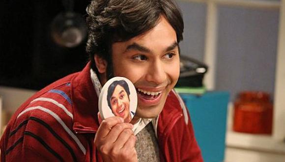 Raj es interpretado por el actor Kunal Nayyar (Foto: CBS)