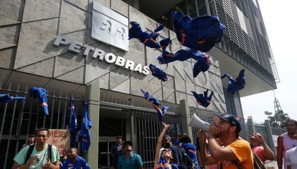 Petrobras ha sido objeto de grandes protestas debido a los casos de corrupción que se descubrieron. (Foto referencial: AP)
