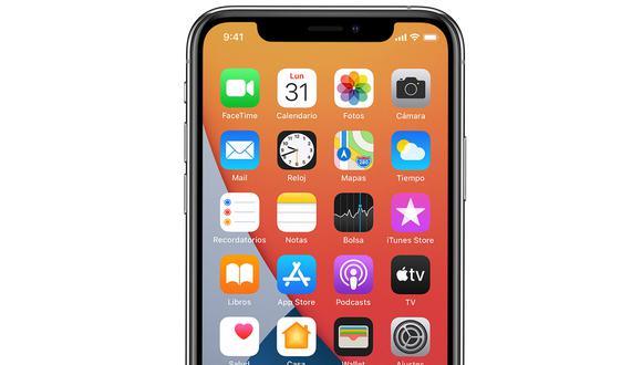 De esta forma podrás tomar una captura de pantalla en el iPhone 12 con iOS: 14. (Foto: MAG)