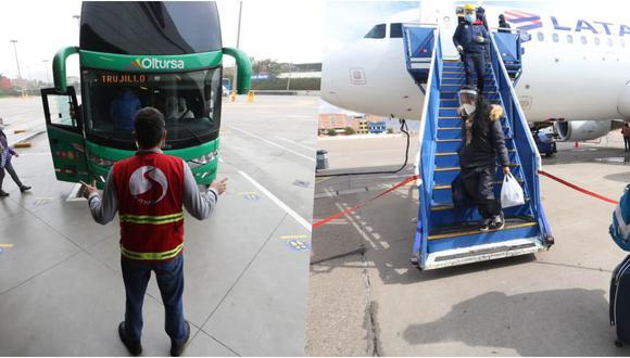 Cada año, cerca de 90 millones de personas viajan en buses interprovinciales dentro del Perú. Es un flujo de pasajeros muy atractivo para las aerolíneas, que transportan la sexta parte de ese número. (Fotos: GEC)