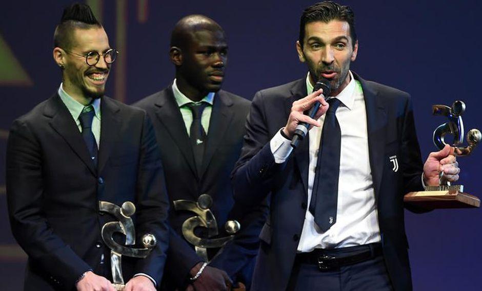 Gianluigi Buffon, veterano portero de Italia, sumó un nuevo galardón a su cuenta personal. Hace pocas semanas protagonizó un llanto desgarrador por no clasificar al Mundial Rusia 2018. (Foto: AFP)