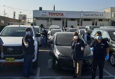 Toyota brinda vehículos al Ministerio de Salud para luchar contra el coronavirus