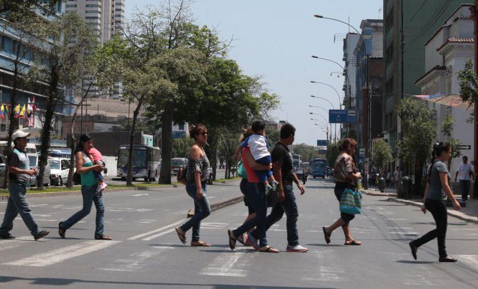 La sensación de calor se va sintiendo en Lima. (Foto: GEC / Referencial)