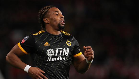 Adama Traoré llegó al Wolverhampton esta temporada. (Getty)