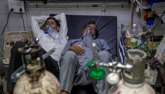 Se cree que la variante Delta fue la que causó la segunda y devastadora ola de coronavirus en India. (Reuters).