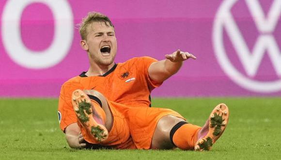 De Ligt recibió dura crítica de parte de Van Basten. (Foto: AFP)