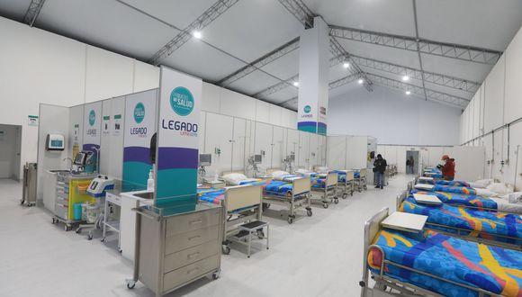 Cada cama hospitalaria contará con un punto de oxígeno autónomo. (Foto: Legado Lima 2019)