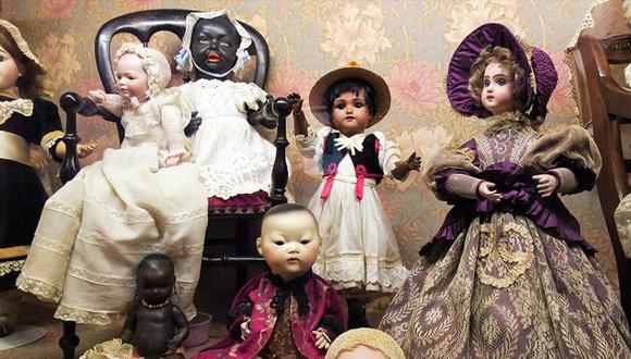 Varias de las más de mil piezas que conforman una de las colecciones de muñecas y juguetes antiguos más valiosas de Sudamérica. (EFE)