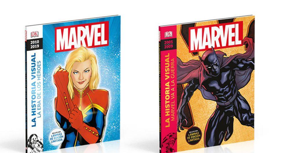 La historia visual de Marvel