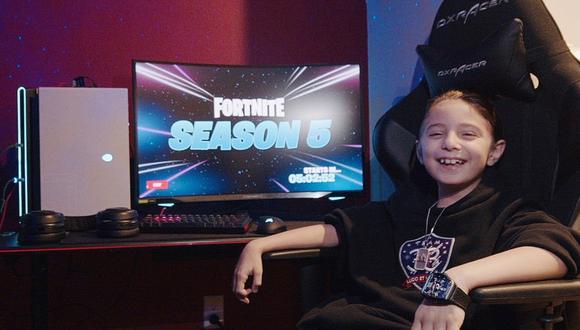 Conoce a Joseph Deen, el jugador profesional más joven de Fortnite. (Foto: Team 33)