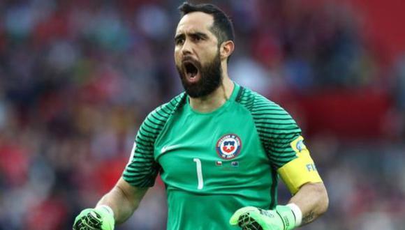 Claudio Bravo se refiere a la realización de la Copa América y la participación de Chile.