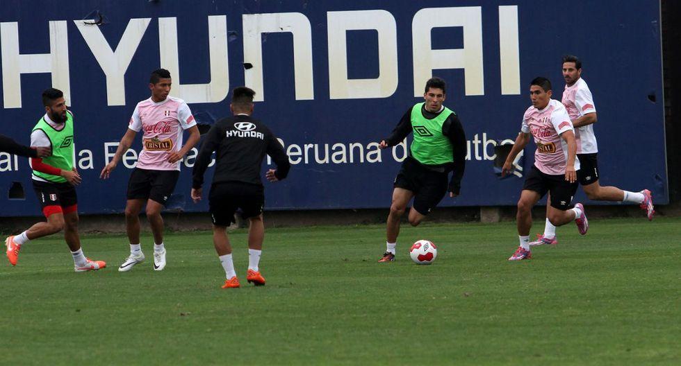 Con Pizarro a la cabeza: Perú entrena para chocar con Guatemala - 8
