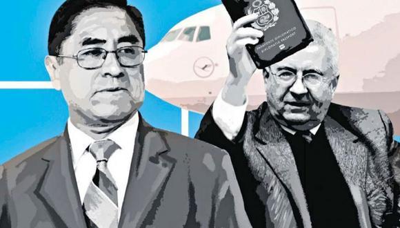 """""""La situación de Bustamante se complica salpicando de paso el buen nombre de nuestro Ministerio de Relaciones Exteriores""""."""