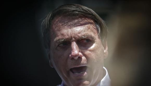 """Jair Bolsonaro dice que el aborto en Argentina legaliza muerte de niños con """"anuencia del Estado"""". (Foto: Andre Coelho / AFP)."""