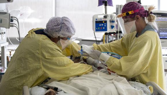 Coronavirus en Estados Unidos | Últimas noticias | Último minuto: reporte de infectados y muertos hoy, viernes 21 de mayo del 2021 | Covid-19. (Foto: EFE/EPA/ETIENNE LAURENT).