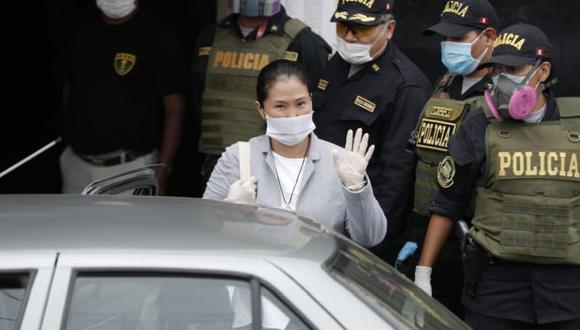 Keiko Fujimori es investigada por presunto lavado de activos. (Foto: Renzo Salazar/ GEC)