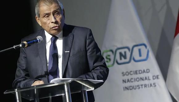Ricardo Márquez, presidente de la Sociedad Nacional de Industrias (SNI).