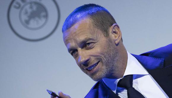 Aleksander Ceferin se pronunció sobre la posibilidad de una Final Four en Champions League. (Foto: AP)