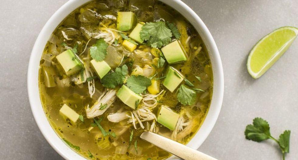 El pozole verde es una sopa tradicional de México (Foto: Pinterest)