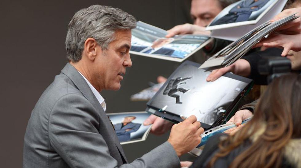 George Clooney derrochó encanto pero su película no convenció - 1