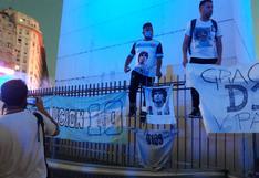 Así están las calles en Argentina tras la muerte de Diego Maradona | FOTOS