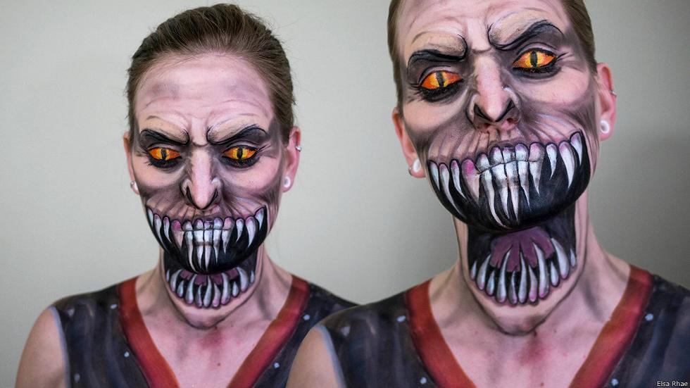 En fotos: increíbles transformaciones usando solo maquillaje - 6