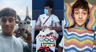 Tokio 2020: Atleta británico se puso a tejer durante competencia de clavados