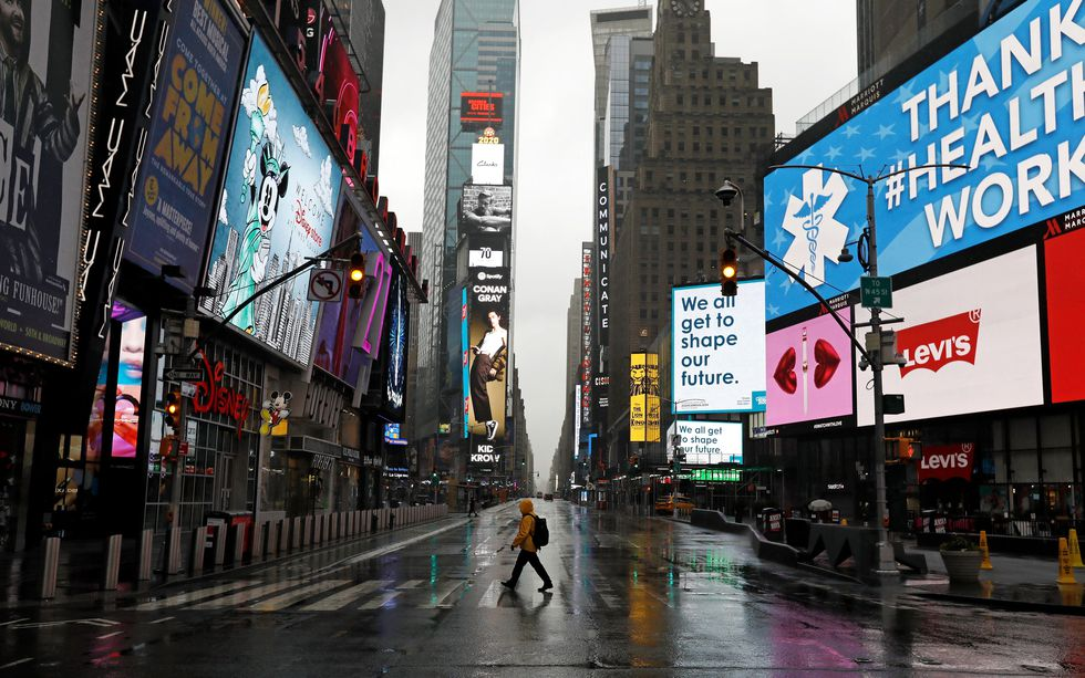 New York is the epicenter of the coronavirus in the United States. (EFE / EPA / Peter Foley).