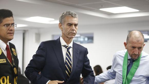 El pasado 23 de febrero, el Poder Judicial impuso 36 meses de prisión preventiva en contra del excongresista Víctor Albrecht por el caso Rich Port II. (Foto: GEC)