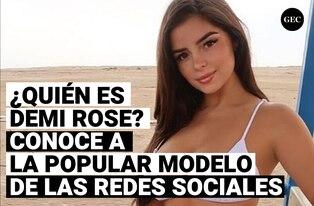 Demi Rose: ¿Quién es la popular modelo que es tendencia en redes sociales?