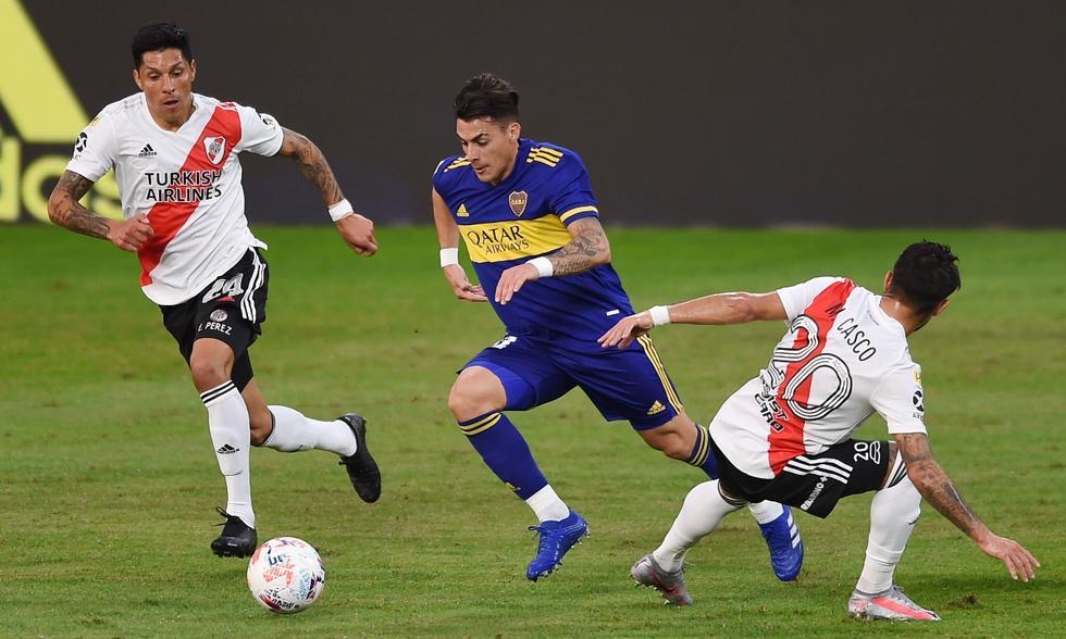 Boca Juniors vs. River Plate: las imágenes del partido en La Bombonera | Foto: REUTERS