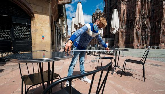 Coronavirus en Francia | Ultimas noticias | Último minuto: reporte de infectados y muertos sábado 30 de mayo del 2020 | Covid-19 | (Foto: PATRICK HERTZOG / AFP).