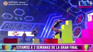 Alejandra Baigorria dedicó un divertido baile a Ducelia Echevarría