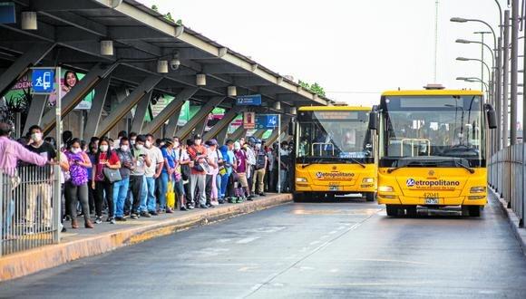 En agosto el Ejecutivo aprobó un decreto de urgencia que otorga un subsidio económico indirecto a la Municipalidad de Lima por el servicio de transportes del Metropolitano, ascendente a S/ 13.4 millones. (Foto: GEC)