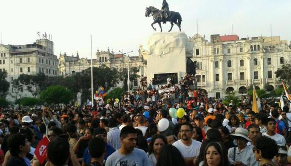 #UnionCivilYa: diversas personalidades apoyaron marcha en Lima