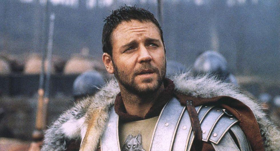 """""""Gladiador"""" (2000) recibió críticas mayormente positivas, reflejadas en cinco premios Oscar, incluido el galardón a la mejor película (Foto: Universal Pictures)"""