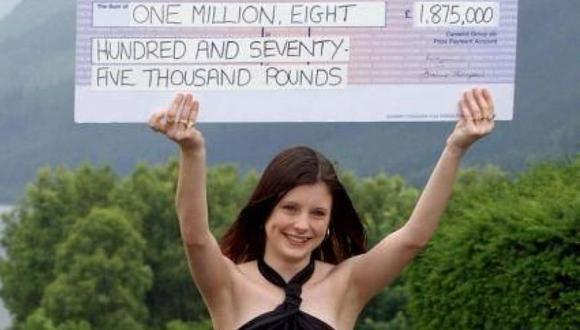 Callie Rogers ganó el premio cuando tenía 16 años. (Foto: Twitter)