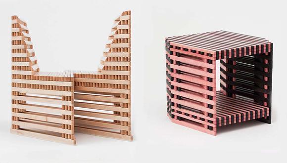 Estos muebles se expanden en las formas más extrañas