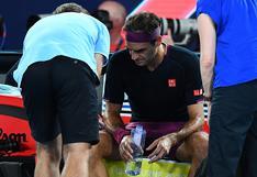 """""""Los músculos de Federer se deterioraron considerablemente"""", advirtió preparador físico del suizo antes de su reaparición"""