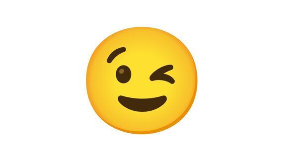 Si alguna vez te mandaron el emoji guiñando un ojo, entonces esto debes saber. (Foto: Emojipedia)