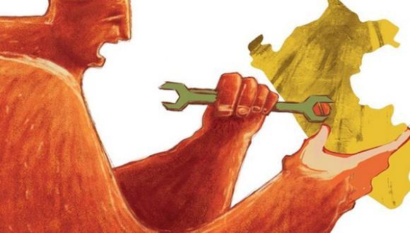 El Incore 2021 da cuenta de un deterioro generalizado del pilar del entorno económico, como resultado de la pandemia. En concreto, las regiones del norte del país muestran la mayor caída de posiciones en este pilar, debido principalmente a la reducción del poder adquisitivo de las familias. (Ilustración: Giovanni Tazza)