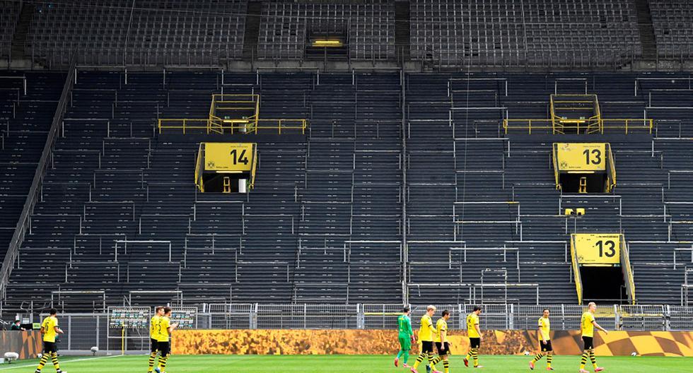 Volvió la Bundesliga con el partido entre Dortmund vs. Schalke 04   Foto: AP/EFE/AFP/Reuters