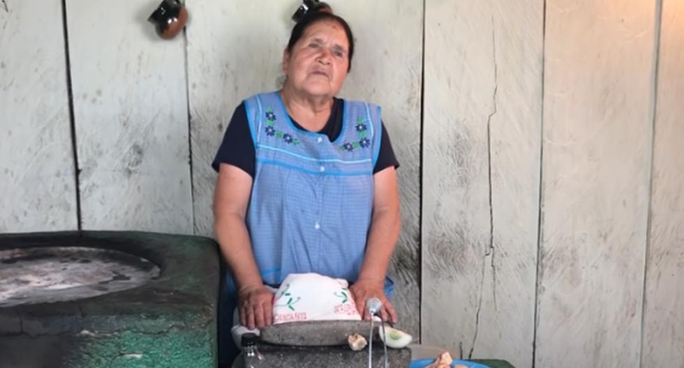 """Doña Ángela es reconocida gracias a su canal de YouTube llamado 'De mi rancho a tu cocina"""", que cuenta con más de 2,7 millones de seguidores. (Captura de video/YouTube)."""