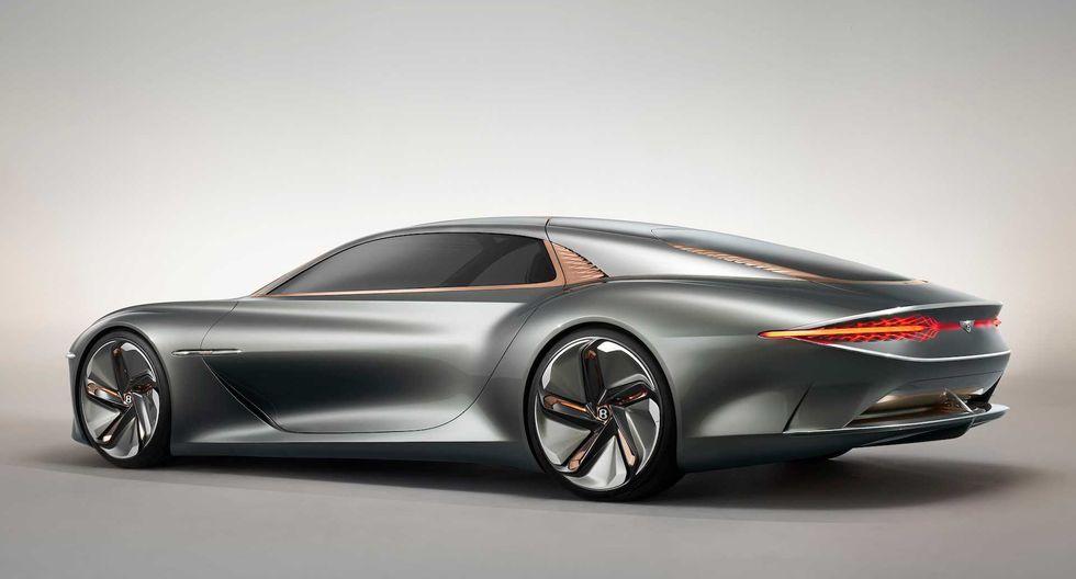 El Bentley EXP 100 GT ofrece una autonomía de 700 km de recorrido y una velocidad tope de 300 km/h. (Fotos: Bentley).