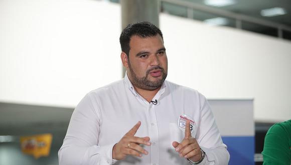 """Guillermo Aliaga indicó que """"es importante hacer un llamado a trabajar de manera conjunta"""". (Foto: GEC)"""
